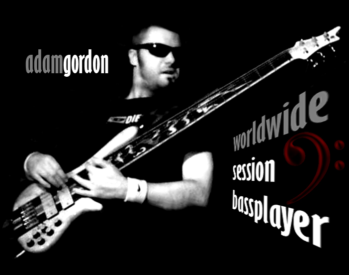 Adam Gordon online session bassplayer basista sesyjny